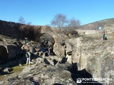 Puentes Medievales, Valle del Lozoya - Senderismo Madrid; rutas cazorla senderismo